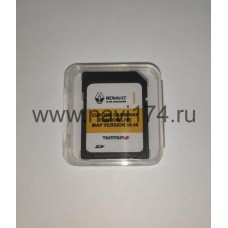 Renault Carminat TomTom Live Россия + Европа SD card Map Version 10.45 2020/2021