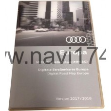 Audi MMI 3G High/Plus  Europe Maps (East/West) 2017/2018 (Россия+Европа)