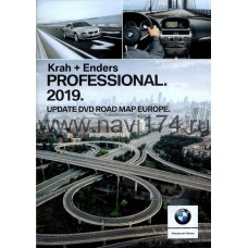 BMW Road Map Europe Professional (CCC) 2019-1 РОССИЯ, Украина + Европа