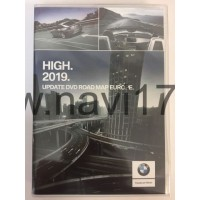 BMW Road Map Europe High 2019 Россия, Европа (MK4)
