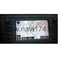 US Gen.5. Toyota-МОНОБЛОК! Navigation DVD E1F RUSSIA EUROPE 2017-2018 Ver.1 + русификация! + НУМЕРАЦИЯ (Американский рынок, Канада / 2006-2010г.)