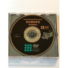 EU Gen.5. Lexus Navigation DVD E1F Россия и Европа 2019/2020г. русский поиск + НУМЕРАЦИЯ ДОМОВ + русификация! (Европа, РФ, Араб.рынок) (2006-2010г.)