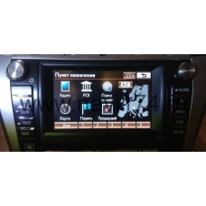 Gen.7 USB Казахстан и Кыргызстан. Обновление через USB Gen.7 Toyota Touch Pro и  Lexus EMVN Navigation