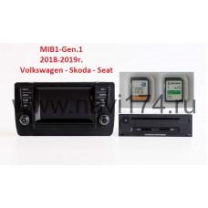 Volkswagen Skoda Seat 2019/20 V14 Discover Media SD (Россия, Европа) MIB1